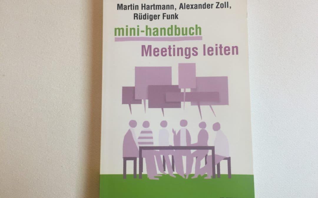 Buchbesprechung: mini-handbuch Meetings leiten